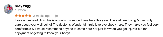 Atlanta Chiropractor Review