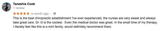 Duluth, Georgia Chiropractor Reviews