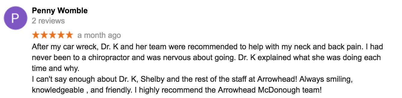 Best Reviewed Chiropractor in McDonough, Georgia