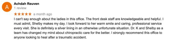 Chiropractor Reviews McDonough, Georgia