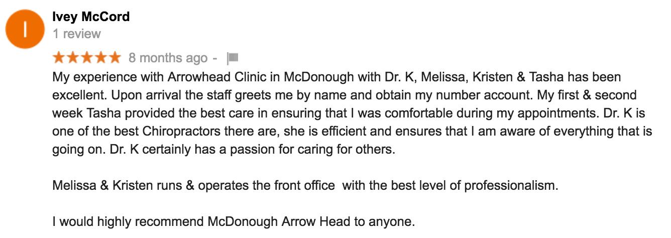 Best Chiro Clinic in McDonough, GA