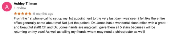 Chiropractor Reviews in Nashville, TN