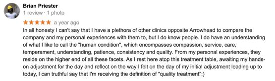 Savannah Chiropractor Reviews