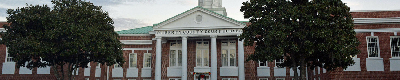 Hinesville Liberty County Courthouse