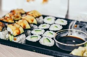 Unhealthy health foods | Sushi