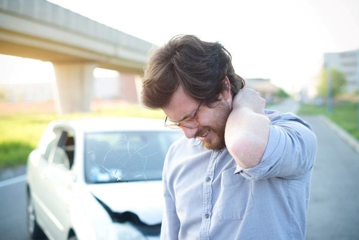 Neck Pain After a Car Accient