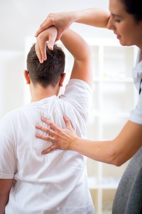 Patient Chiropractic Exam