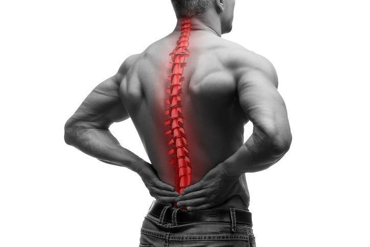 Back pain from a car accident in Rex, GA