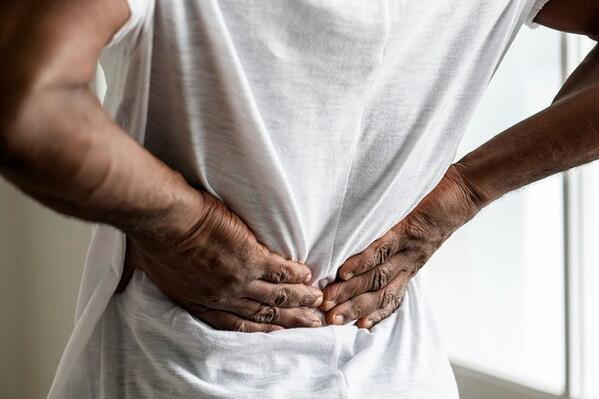 Deep breathing can help with your back pain