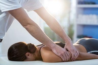 Whitemarsh Island Chiropractor Adjusting Accident Patient