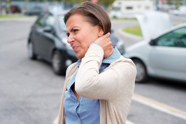 Symptoms of a whiplash injury aren't always immediate
