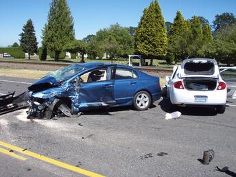 Car crash injury care in Athens, GA