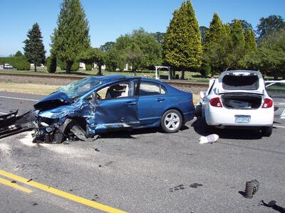 Soft Tissue Injuries After a Car Wreck