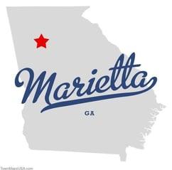 Car crash injury care in Marietta, Georgia