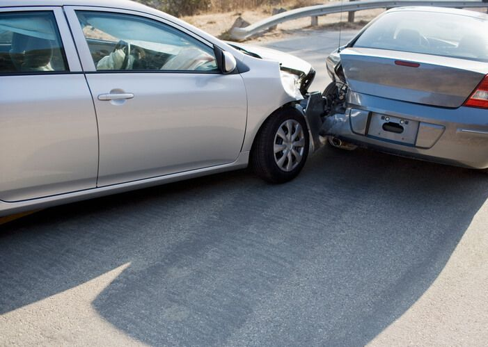 Rear-end collision