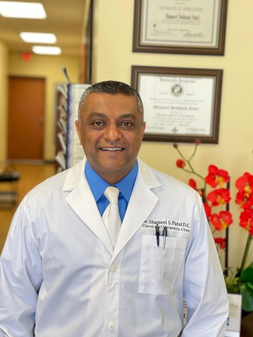 dr. patel provides excellent chiropractic care to his patients at arrowhead clinic.
