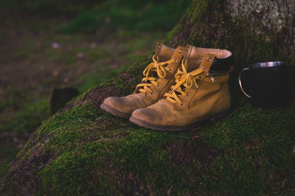 shoes-hiking-shoes-hiking-old-worn-wallpaper-preview