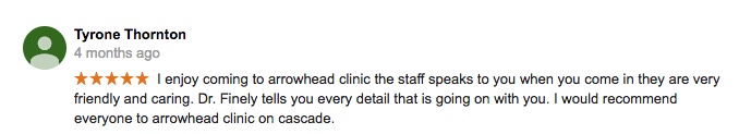 5 Star Chiropractor Review Atlanta